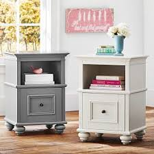 girls white bedside table chelsea bedside tables chelsea accent tables pbteen beds