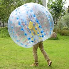 goplus 1 pc 1 5m inflatable bumper ball body zorbing ball zorb