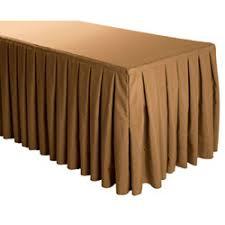 8 ft table skirt buy premium polyester box pleat skirting bulk price