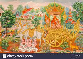 art thai mural mythology buddhist religion on wall in wat neramit art thai mural mythology buddhist religion on wall in wat neramit vipasama dansai loei thailand