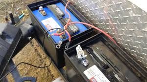 how to wire your rv batteries youtube