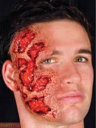 halloween woochie latex kit prosthetic zombie vampire burn injury