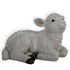 sheep garden statues ornaments ebay