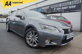 lexus cars 4 door used 2012 lexus gs 450h luxury 3 5 petrol electric hybrid 4 door