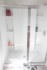 My Shower Door Diy Industrial Factory Window Shower Door Remodelaholic Bloglovin