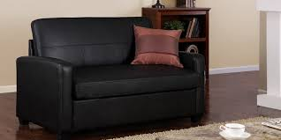 Black Sleeper Sofa Sleeper Sofa Black Faux Leather New Model 2018 2019
