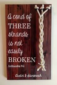 three cords wedding ceremony cord of three strands shadow box unity and cord