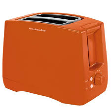 Toaster Kitchenaid Kitchenaid 2 Slice Toaster Tangerine Kenmoreconnect