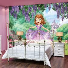 Princess Room Decor Disney Sofia The Mural Wall Decals Princess Room Decor