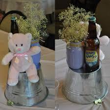 Centerpieces For Baby Shower by A Baby Is Brewing