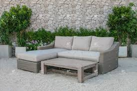 New Design Pe Wicker Rattan Outdoor Furniture Sofa L Shape Buy - Rattan outdoor sofas
