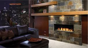 furniture stone gas fireplace in living room ideas with shelving