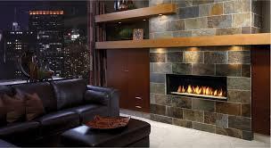 furniture stone gas fireplace design ideas