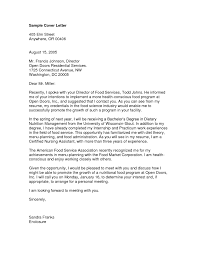 cover letter what to say in a correspondence personal with regard