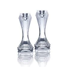 Mikasa Home Decor by Buy Celebrations By Mikasa Set Of 2 Art Deco Candle Sticks Online