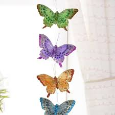 amazonsmile feather butterfly garland colorful glitter