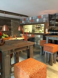 The Kitchen Open Table by Open Window To The Kitchen Stool Seating At The Bar Picture Of
