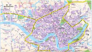 Xi An China Map by Nanning Maps Map Of Nanning China Nanning Tourist Maps Nanning