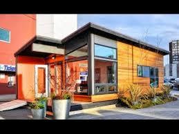 400 sq ft modern prefab cabin youtube