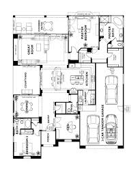 Garage Home Floor Plans by Trilogy At Vistancia Tarragona Floor Plan Model Home Floor Plans