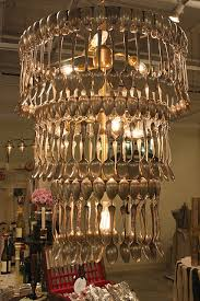 Chandelier Define Silverware Chandelier This Would Take An Awful Lot Of Spoons But