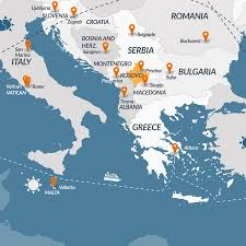 Map Of Greece And Italy by Europe Map Graphicriver High Quality Vector Map Of Europe