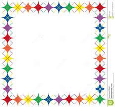 colorful border clip art clipart