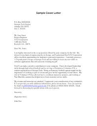 Sample Cover Letter Layout Volunteer Work Cover Letter Images Cover Letter Ideas