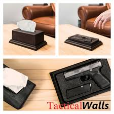 Hidden Compartment Coffee Table by Issue Box Hidden Gun Tissue Boxes And Guns