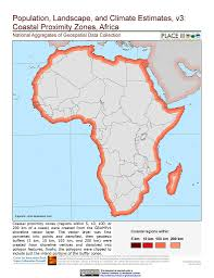Africa Climate Map by Maps Population Landscape And Climate Estimates Place V3