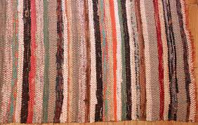 Corner Runner Rug Vintage Swedish Runner Rag Rug 46657 By Nazmiyal