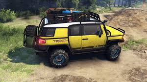 toyota fj cruiser fj cruiser yellow for spin tires