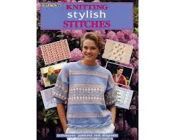 harmony guide knitting stitch book knitting stylish stitches