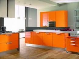 cuisine couleur orange cuisine italienne design orange