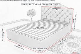 misura materasso matrimoniale letto matrimoniale imbottito con contenitore nefi italia ambra 01