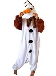 Olaf Costume Newcosplay Anime Unisex Olaf Pyjamas Kigurumi Halloween