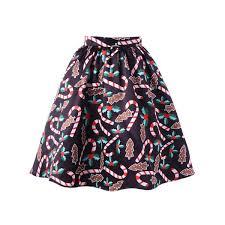 christmas skirt wholesale christmas allover print flare skirt 2xl colormix online