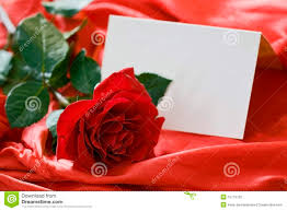 Red Invitation Cards Red Rose And Invitation Card Stock Photography Image 12774722