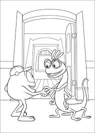 monsters university coloring pages 8 coloring pages