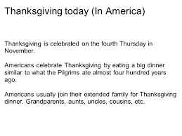 thanksgiving today thanksgiving ppt download