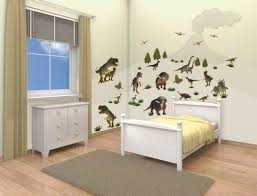 dinosaur land bedroom decor kit walltastic