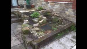 how to build a small waterfall and pool youtube