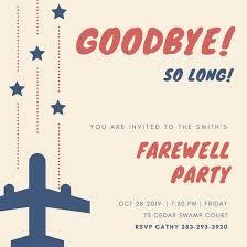 farewell party invitation customize 103 farewell party invitation templates online canva