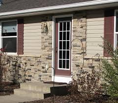 exterior amazing fake stone siding for home interior and exterior