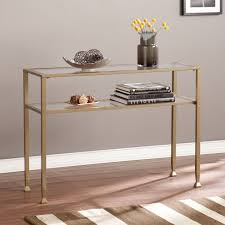 old glass table ls gold console table and mirror home ideas
