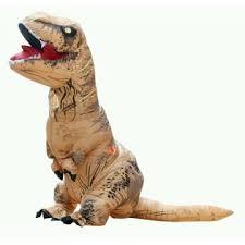 Blow Halloween Costume Rex Inflatable Jumpsuit Dinosaur Blow Halloween Costume