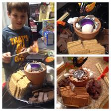 cute idea indoor fire pit for smores kids love it creative