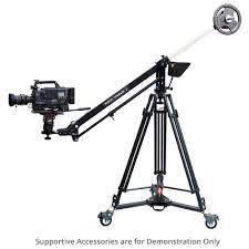 proaim 7 u0027 wave 2 video jib crane with cst 100 stand u0026 portable