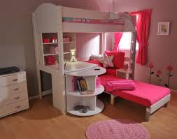 Half Bunk Bed Bedroom The Commodious Bunk Bed With And Desk For Your
