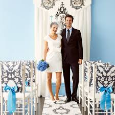 diy wedding decorations using wallpaper martha stewart weddings